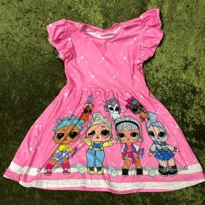 Dresses - LAST CHANCE🍌L.O.L. Dolls pink dress